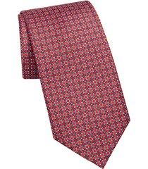 chain link dot print tie