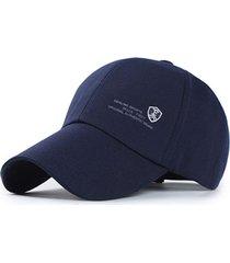gorra golf bordado fiery algodon unisex - azul