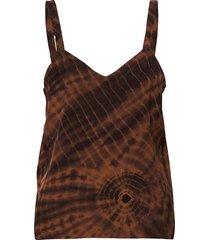 maisa t-shirts & tops sleeveless bruin rabens sal r