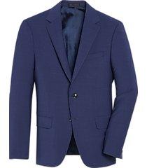 calvin klein skinny fit suit separates coat blue
