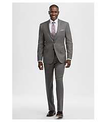 reserve collection tailored fit glen plaid men's suit by jos. a. bank