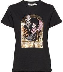 elliot t-shirts & tops short-sleeved svart munthe