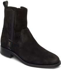 fayy mid zip boot shoes boots ankle boots ankle boot - flat svart gant