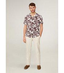 overhemd met hawaïprint