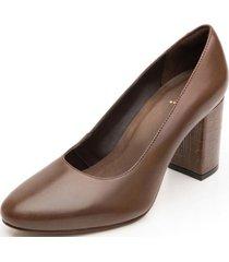 zapato mujer cora café flexi