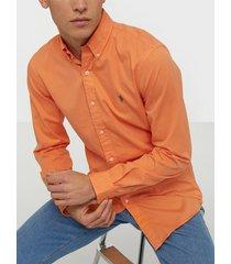 polo ralph lauren long sleeve sport shirt skjortor orange