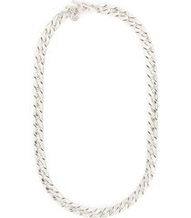 'ben' oversized flat chain necklace