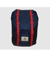 mochila azul mistral  burnham