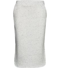 skirts knitted knälång kjol vit edc by esprit