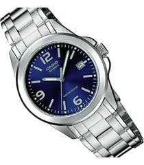 reloj casio dama elegante ltp-1215a-2a color azul