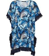 milano poncho baddräkt badkläder multi/mönstrad missya
