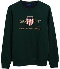 gant sweater archive shield crew neck