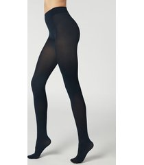 calzedonia 50 denier total comfort soft touch tights woman blue size xl