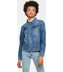 3301 straight denim jack