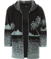 alanui point dume cardigan