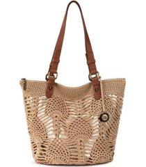 silverwood crochet shopper