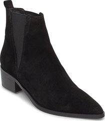 boots 3691 shoes boots ankle boots ankle boot - heel svart billi bi