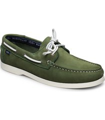2-eye nbk båtskor skor grön marstrand