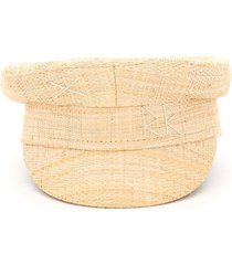 ruslan baginskiy baker boy straw hat rb embroidery