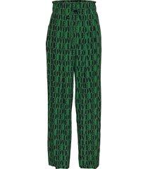 prt love silk drawst wijde broek groen calvin klein