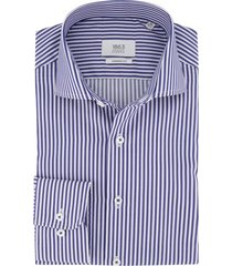 shirt blauw wit gestreept eterna modern fit
