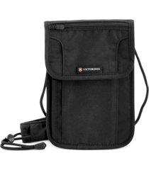 victorinox swiss army deluxe concealed security pouch with rfid protection