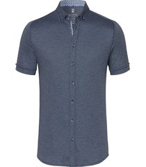 desoto dress hemd 33531-3 blauw