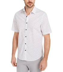 alfani men's number print shirt, created for macy's
