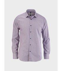 camisa cuadros manga larga para hombre 01809