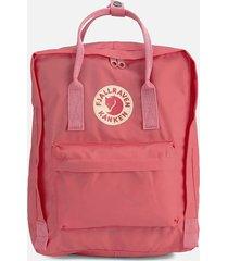 fjallraven women's kanken backpack - peach pink