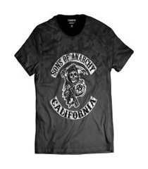 camiseta sons of anarchy motociclistas samcro