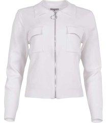 maicazz silke vest off white sp21.65.002