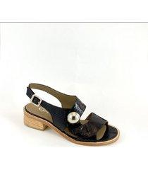 sandalia  marrón christ monel joan ii