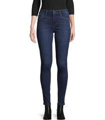 joe's jeans women's mid-rise skinny-fit jeans - dark blue - size 24 (0)