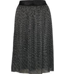 dariane cecilie skirt knälång kjol grå bruuns bazaar