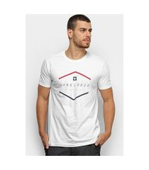 camiseta hang loose silk blancolor masculina