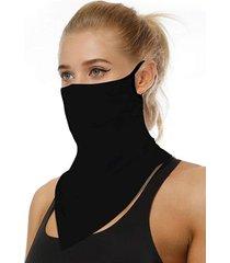 pañuelo mascarilla anti filtraciones negro uniforma