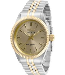 reloj invicta multicolor modelo 293ia para hombre, colección specialty