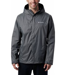 chaqueta gris oscuro columbia watertight
