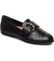 lisbet croco loafers loafers låga skor svart fitflop