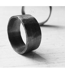 srebro masywne obrączki raso1 oksydowane