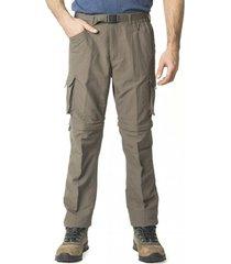 pantalón desmontable gris kannú