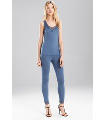 undercover tank pajamas, women's, blue, size xl, josie natori