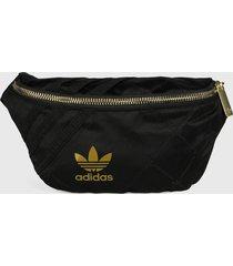 canguro negro-dorado adidas originals waist bag