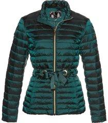 giacca trapuntata lucida (verde) - bpc selection