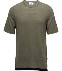 cotton short sleeve 6279 t-shirts short-sleeved grön nn07