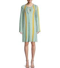m missoni women's abito stripe tunic dress - starlight - size 44 (8)