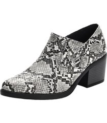 botin animal print elasticado grey danicolle