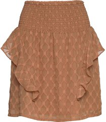 skirt kort kjol brun sofie schnoor
