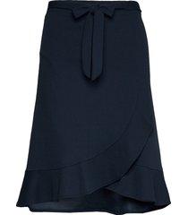 sc-siham knälång kjol blå soyaconcept